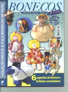 Bonecos de Pano N°0001