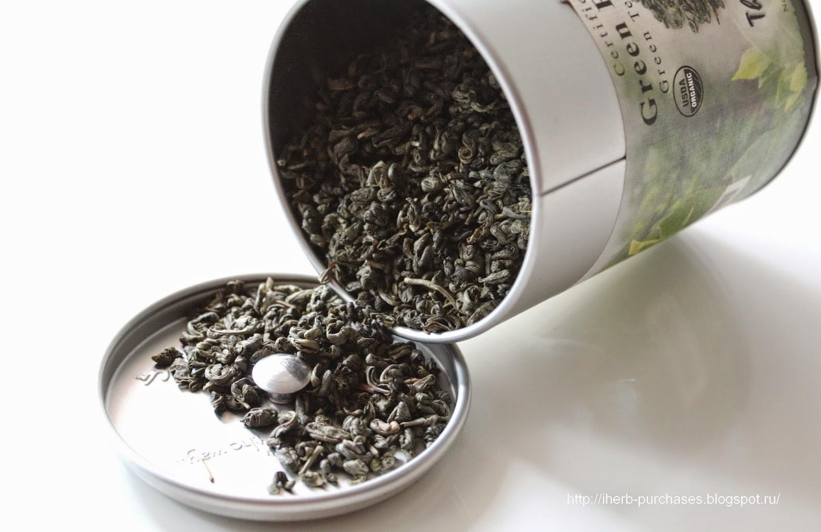 чай, отзыв, iherb