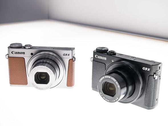 Canon PowerShot G9 X Mark II, в двух цветовых решениях