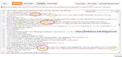 Mengatasi protokol https yang tercoret pada blogspot
