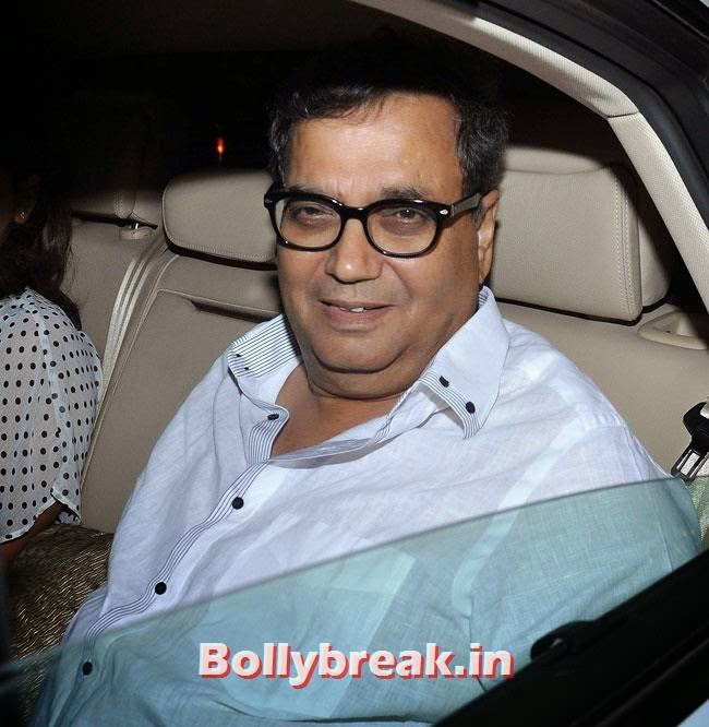 Subhash Ghai, Celebs at Heropanti Special Screening