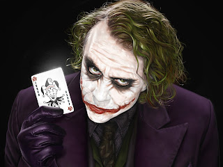 Film and Literature: heath ledger-- the joker