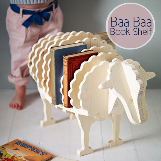 Baa Baa Book Shelf, accesories