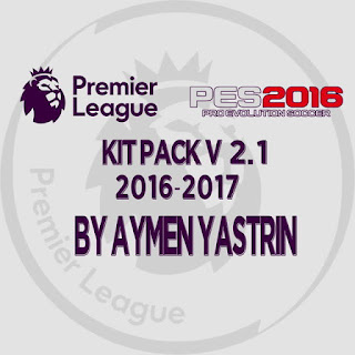 PES 2016 Premier League Kit Season 2016-2017