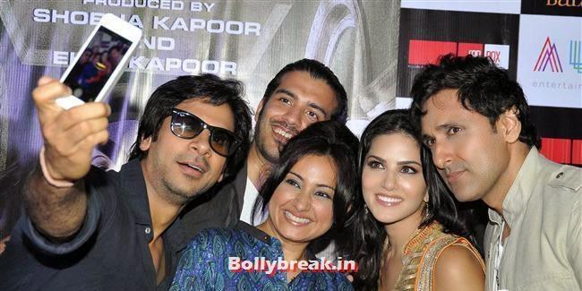 Success Bash of Movie 'Ragini MMS 2', Sunny Leone at Ragini MMS 2 Success Bash