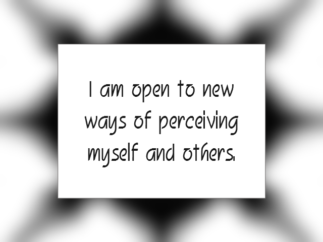 PERSPECTIVE affirmation