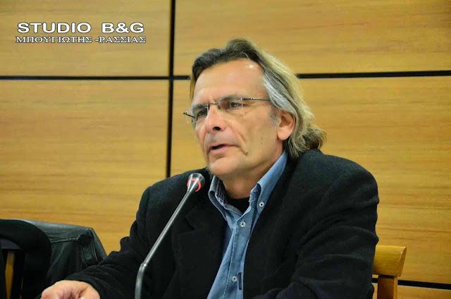 Νίκος Πατσαρίνος: Δεν πάει άλλο η κατάσταση στην Περιφέρεια Πελοποννήσου