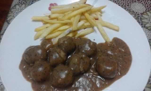 Resepi Meatball Ala Ala Ikea