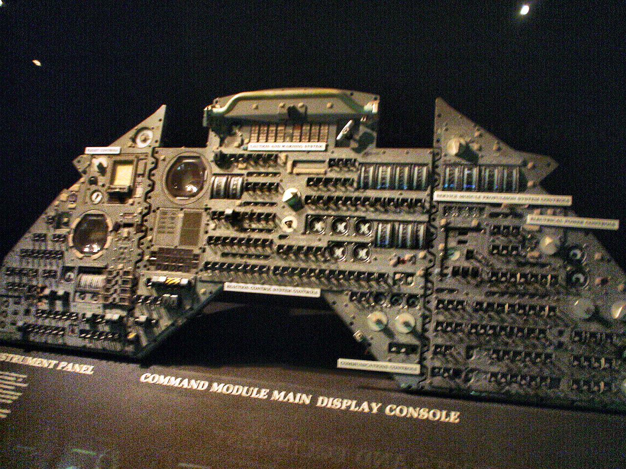 Apollo Command Module Control Panel - Pics about space