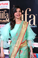 Samantha Ruth Prabhu Smiling Beauty in strange Designer Saree at IIFA Utsavam Awards 2017  Day 2  Exclusive 34.JPG
