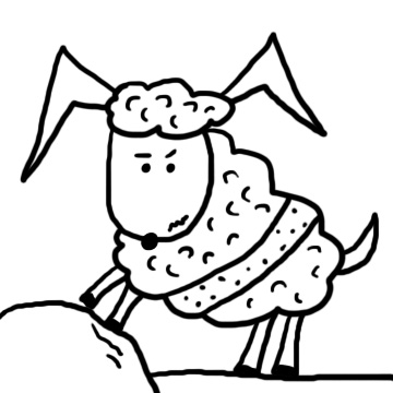Church House Collection Blog: Sheep Clipart