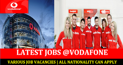 Job Vacancies At Vodafone in Qatar