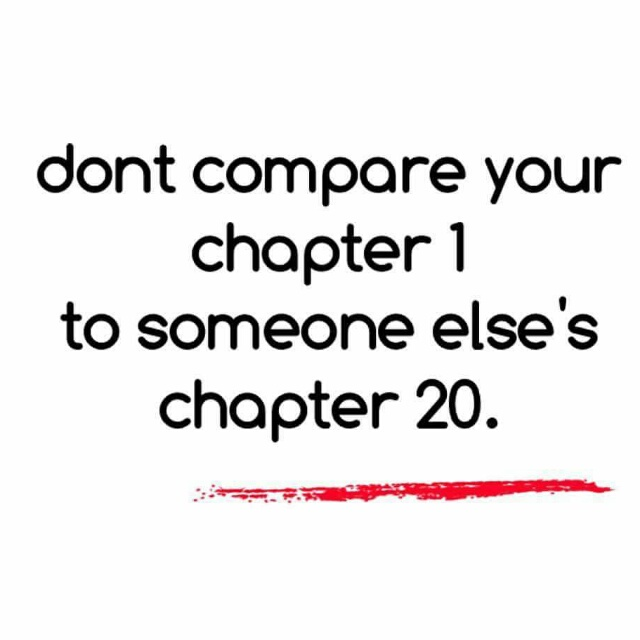 Don't Compare Your Life!