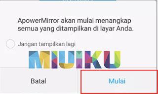 cara mirroring xiaomi dengan apower mirror