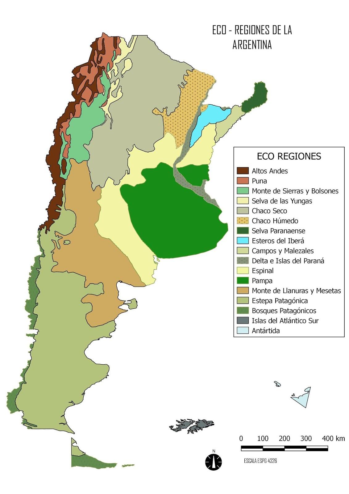 Politicas Publicas Eco Regiones Argentinas