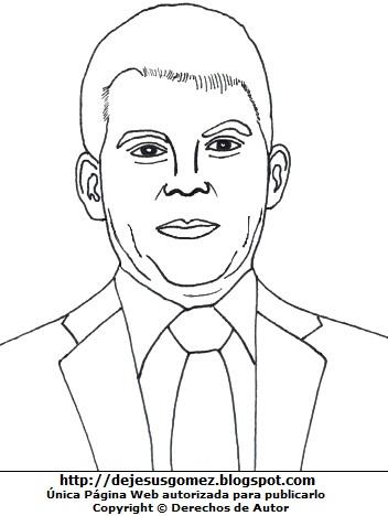 Imagen de Julio Guzmán para colorear, pintar o imprimir. Dibujo de Julio Guzmán hecho por Jesus Gómez