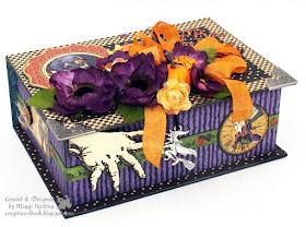 Halloween in Wonderland Book Box