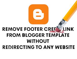 Hướng dẫn xóa link bản quyền chân trang theme blogspot