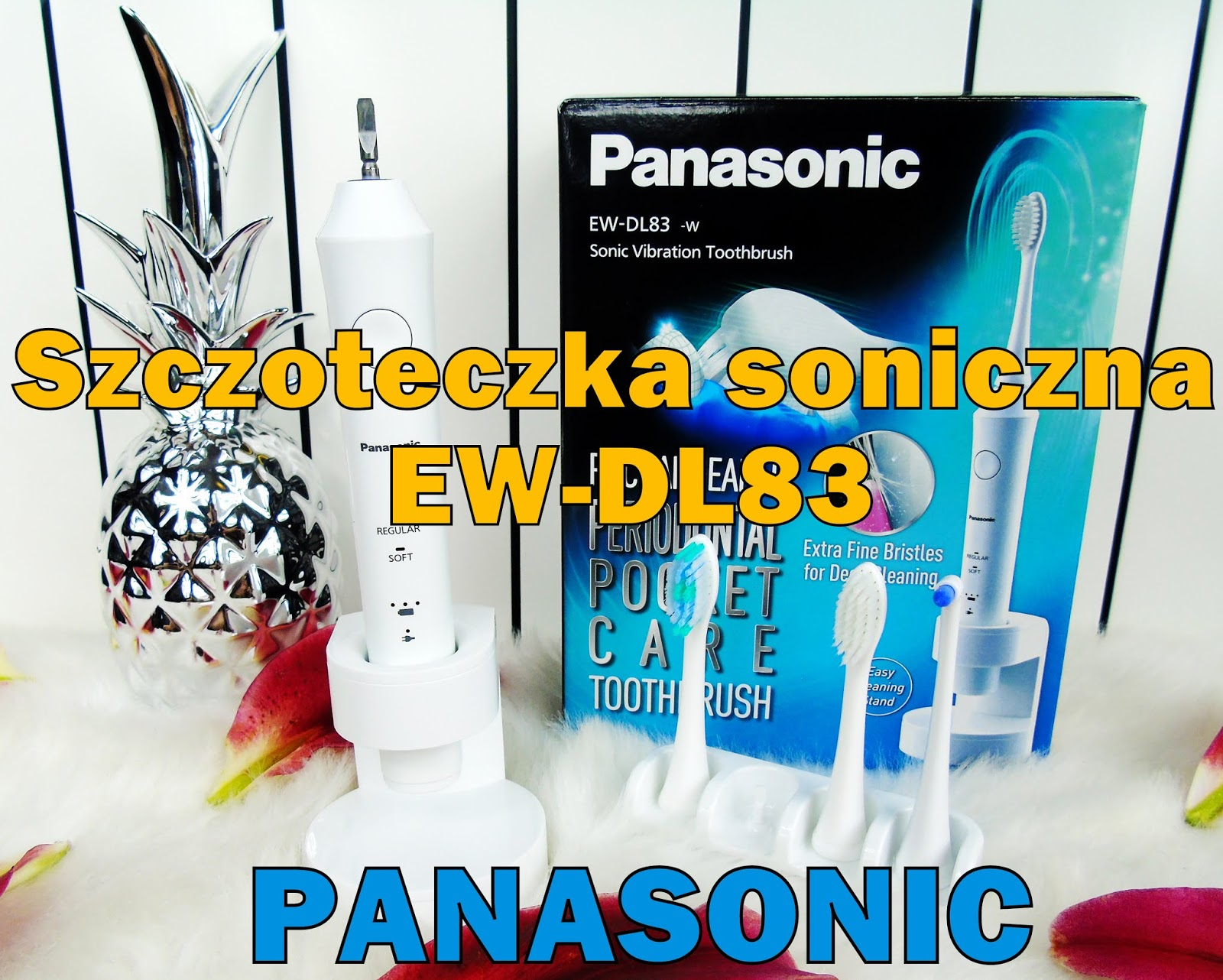 Panasonic EW-DL83 - Szczoteczka z technologią soniczną, którą pokochacie!