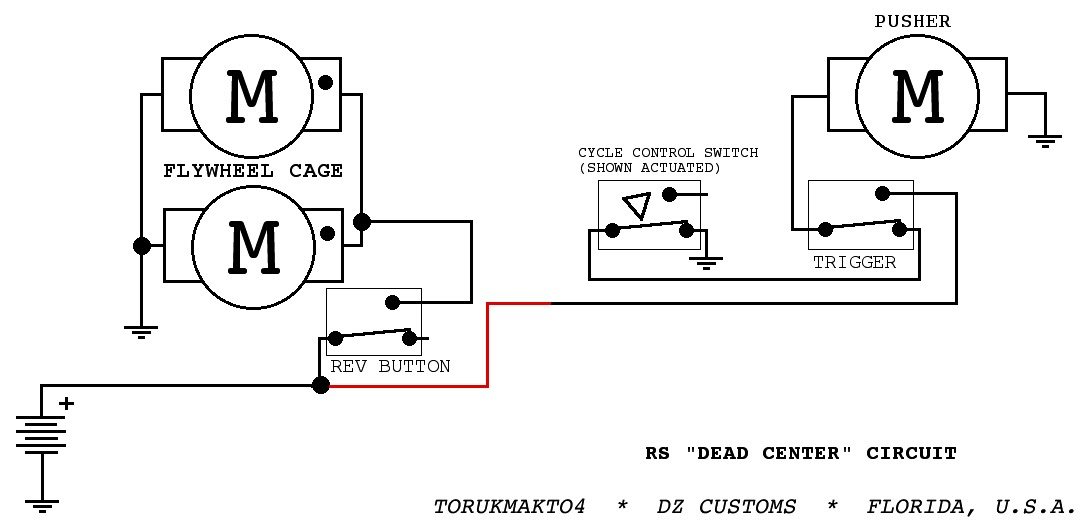 The Dart Zone: Tech: Rapidstrike Control Circuits Part 1