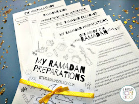 Pre-Ramadan preparations planning pages free download