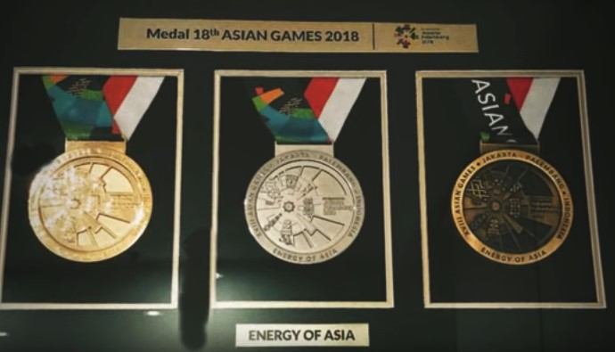 Perolehan Medali Asian Games 2018