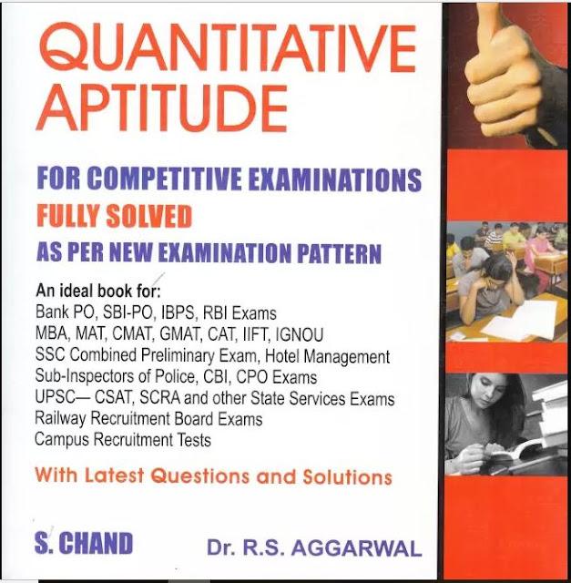 RS Aggarwal Quantitative Aptitude Free E-Book PDF
