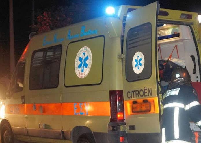 ΙΧ παρέσυρε μηχανή στα Τρίκαλα – Τραυματίστηκε ο οδηγός