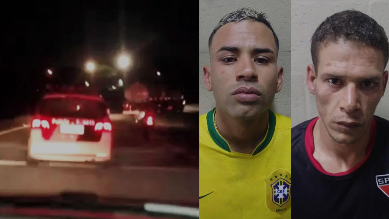 Bandidos roubam caminhão e fazem motorista de refém na SP-346