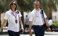 Paddy Lowe Williams F1 Robert Kubica