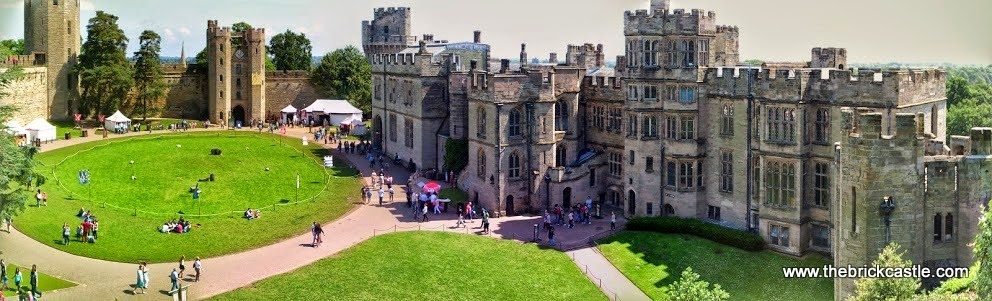Warwick Castle Review - castle view panorama