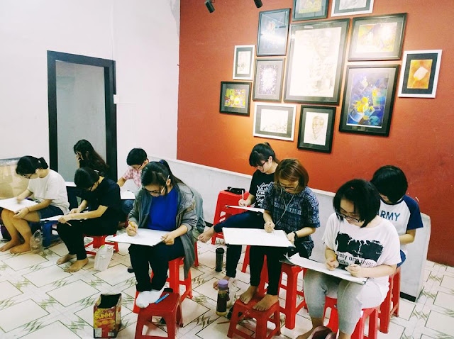 trung tâm dạy vẽ cơ bản cho người lớn