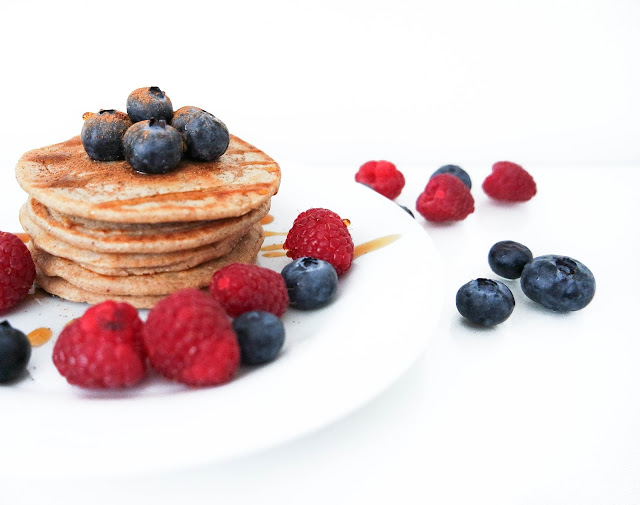 easy healthy vegan pancakes