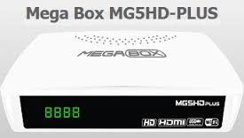 MEGABOX MG5 HD PLUS NOVA ATUALIZAÇÃO V1.66 - 10/08/2018