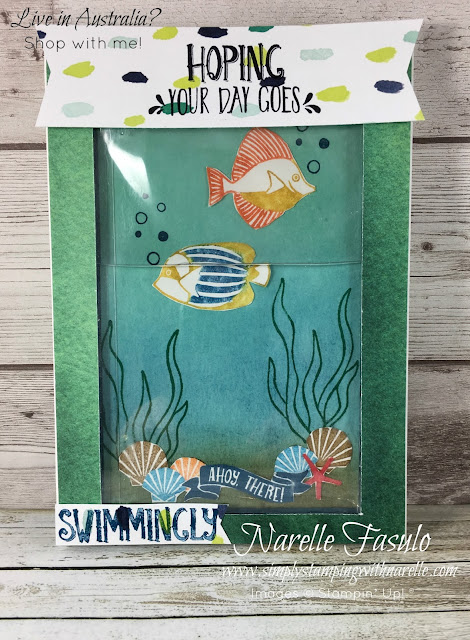 Fish Tank Card made using Seaside Shore Stamp Set - Simply Stamping with Narelle - get all the supplies you need to make this card here - https://www3.stampinup.com/ecweb/default.aspx?dbwsdemoid=4008228