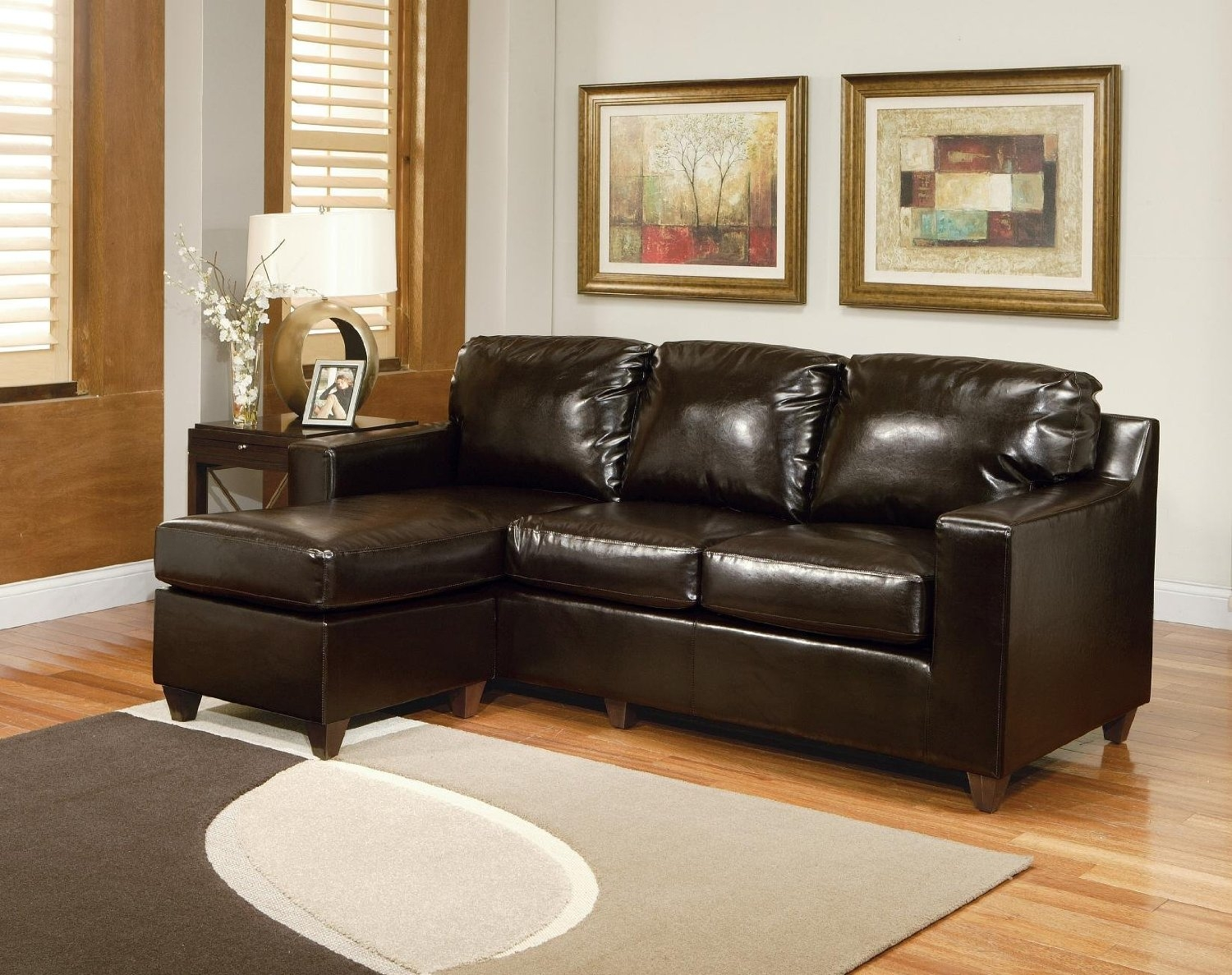 Simple Review About Living Room Furniture: Small Sectional ...