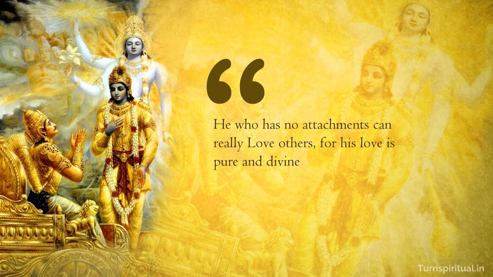 Lord Krishna quotes on Love from Bhagavadgita -  Radha Krishna HD wallpapers, free download