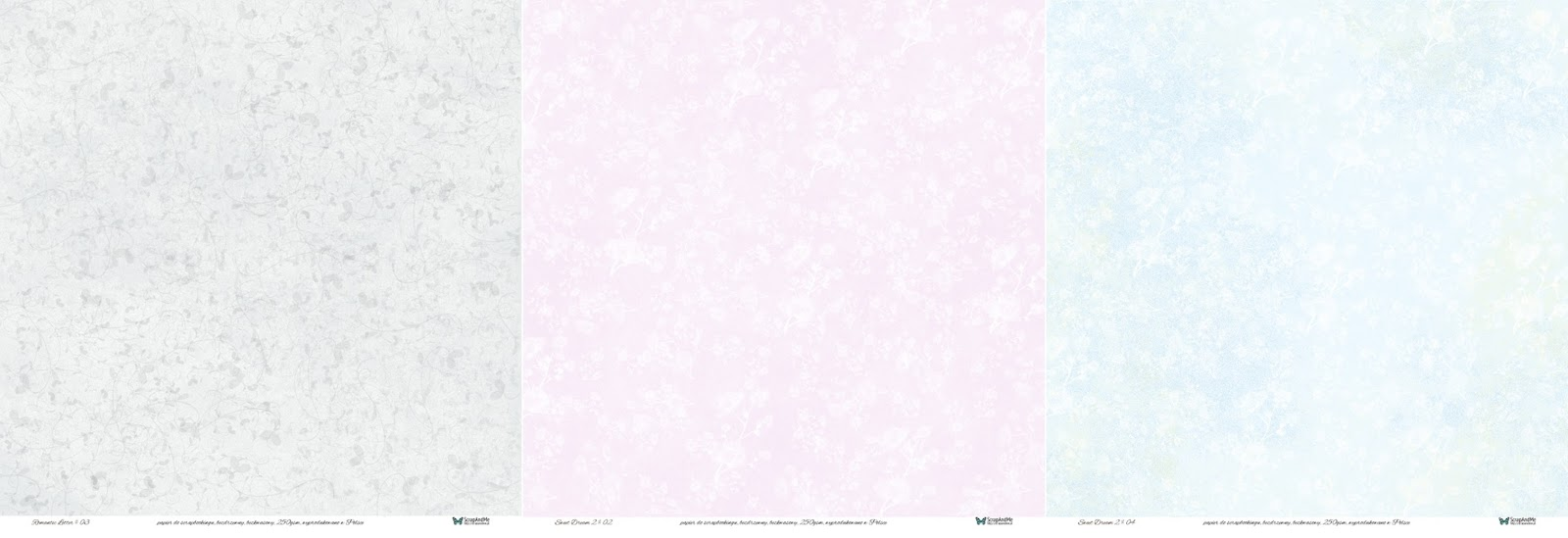 Papiery ScrapAndMe: Romantic Letter i Sweet Dream 2.