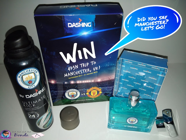 Die Hard Football Fan? Let's Go Manchester! DASHING, BODY SPRAY FOR MAN, FARFUME FOR MAN,