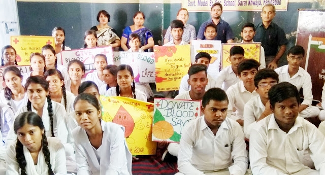 Awareness by National Voluntary Blood Donation Day, Seminar and Salon