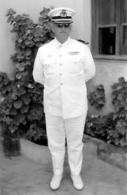 El comandante Guerra, al que se hace referencia en la narración (Foto de CARMELO MEDINA)