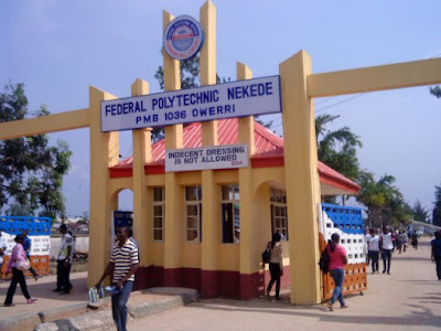 federal polytechnic nekede matric