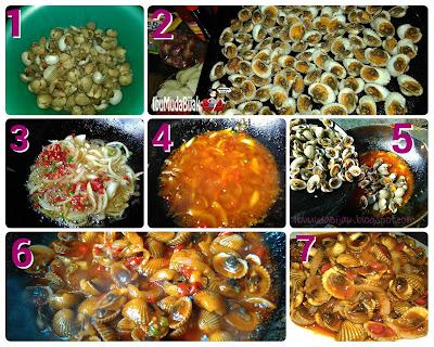 Resep Seafood Kerang Saus Asam Manis Pedas