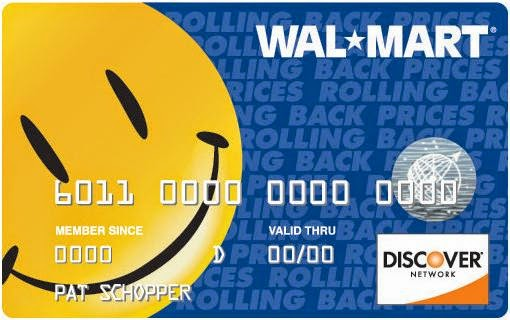 Upgrade a Walmart Card to a Walmart Discover