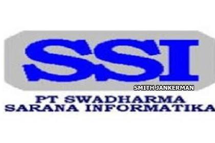 Lowongan Kerja Pangkalan Kerinci : PT. Swadharma Sarana Informatika Agustus 2017