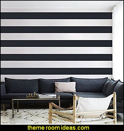 Wall Stripes Sticker Stripes Wall Decal Wall Graphic Mural