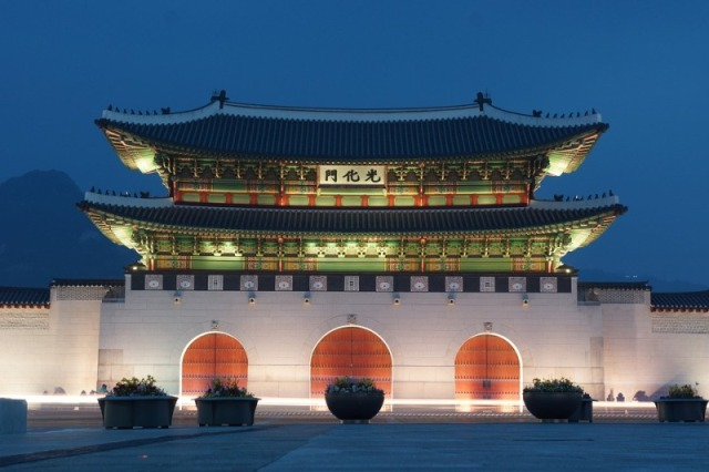 Gwanghwamun, Gyeongbok Palace, Seoul