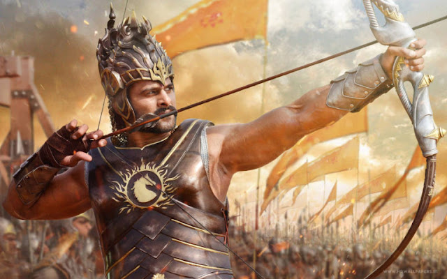Prabhas Awesome Bahubali Scenes HD Wallpapers Images