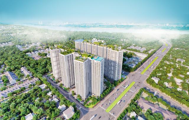 Phối cảnh chung cư Imperia Sky Garden Minh Khai