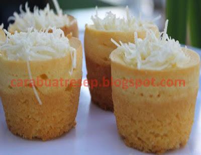 Foto Resep Kue Putu Belanda Sederhana Spesial Topping Keju Asli Enak